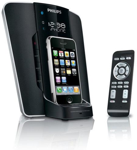 Philips adelanta sus nuevos altavoces y bases para reproductores portátiles