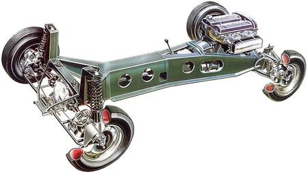 Chasis Lotus Elan 1964