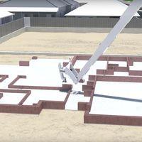 Los robots constructores de casas, más cerca de convertirse en realidad con Fastbrick Robotics y Caterpillar