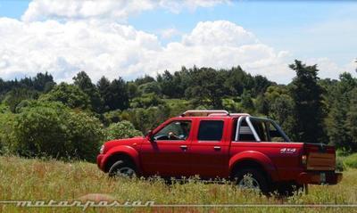 Nissan Frontier LE 4X4, prueba (parte 2)