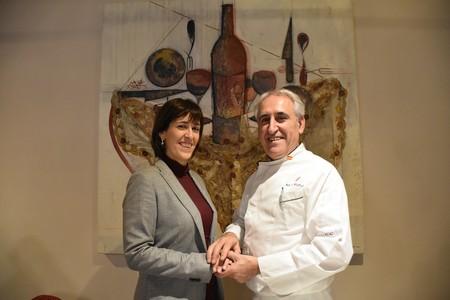 Verónica Muñoz, directora del restaurante Adolfo, y Adolfo Muñoz, chef.