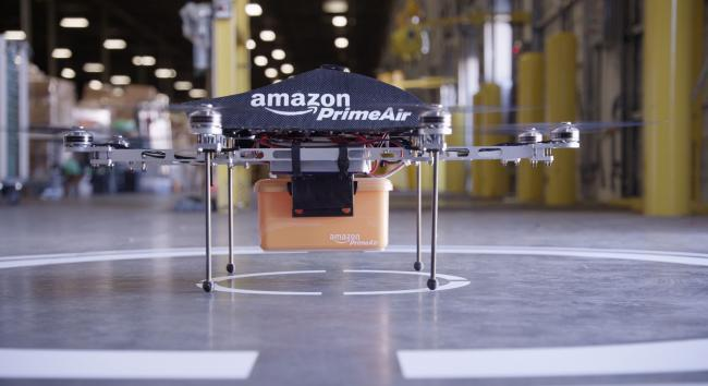 Amazon pone los ojos en la India para comenzar a probar sus drones repartidores