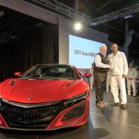 El primer Acura NSX 2017 es entregado a su afortunado dueño