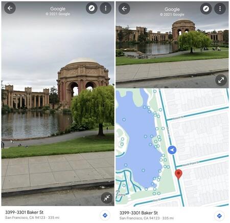 Google Maps Street View Pantalla Dividida 1