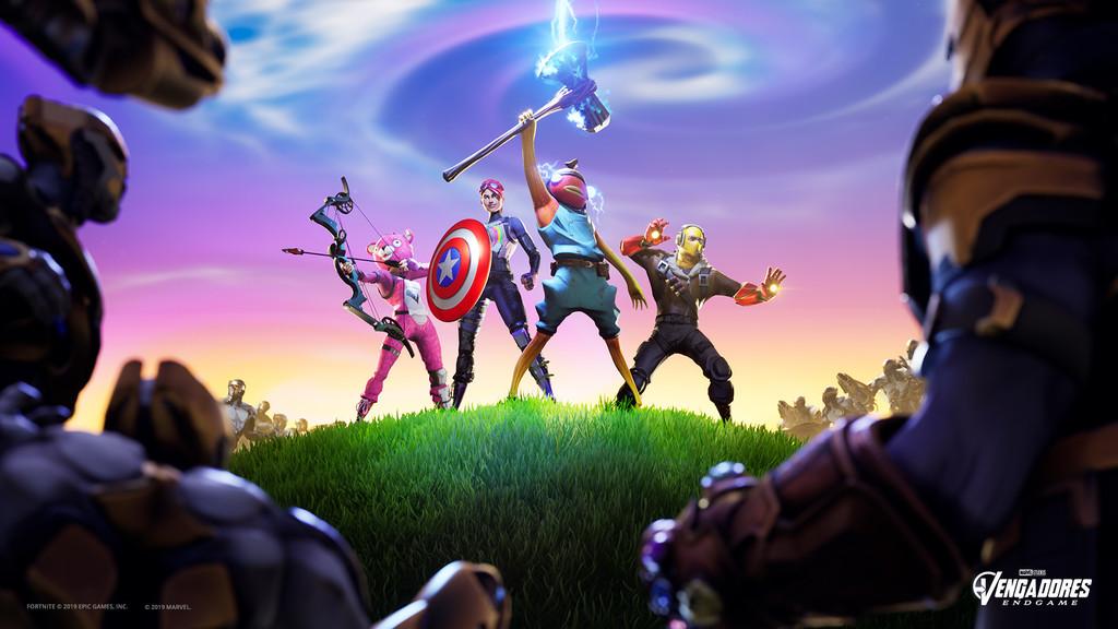 Jugando a Fortnite X Vengadores Endgame: un modo muy divertido... si luchas contra Thanos y sus chitauri