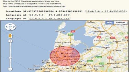 El Centro de Coordinación de redes IP Europeas crea una base de datos para que los ISPs geolocalicen sus direcciones IP