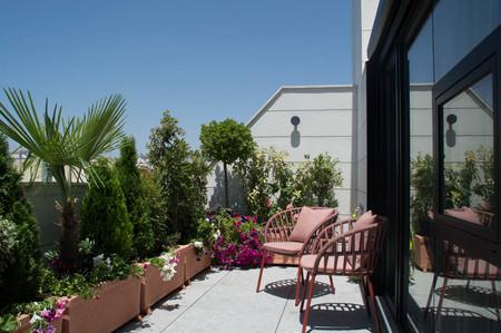 Ático en Madrid con terraza