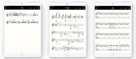 StaffPad Reader en varios iPads