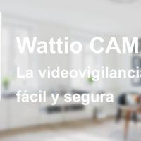 Wattio amplía su sistema domótico con una nueva cámara IP WiFi