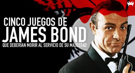 Cinco videojuegos de James Bond que deberían morir al servicio de su Majestad