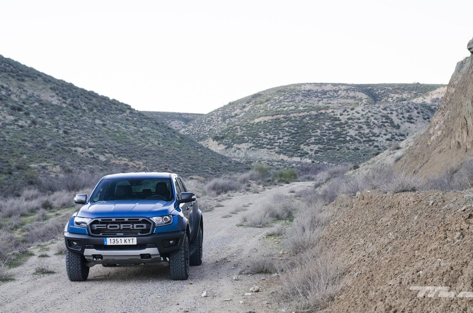 Foto de Ford Ranger Raptor 2020, prueba (34/36)