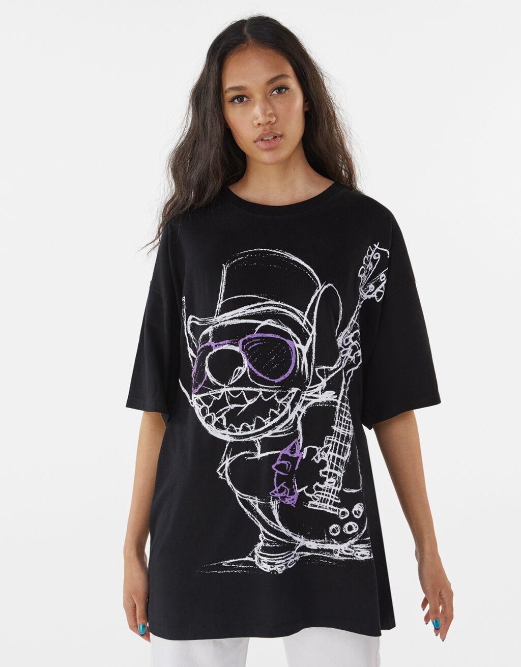 Camiseta de manga corta Lilo&Stitch