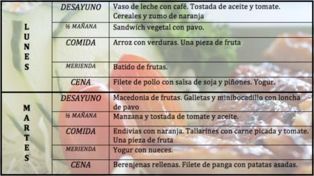 Tu dieta semanal con Vitónica (IX)