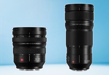 Panasonic Lumix S Pro 16-35 mm F4 y 70-200 mm F2.8 OIS, nuevas ópticas de tipo profesional para las mirrorless del sistema L-Mount