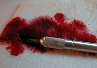 Cómo eliminar una mancha de sangre antigua