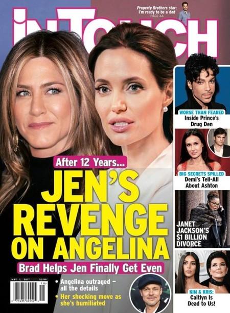 Jennifer y Angelina, empatadas