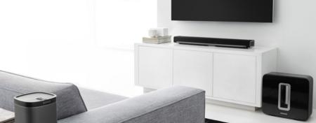 El cine en casa se pone guapo y elegante gracias a este sistema 5.1 sin cables de Sonos