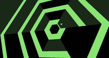 Terry Cavanagh demuestra que la dificultad de 'Super Hexagon' está ahí para ser superada