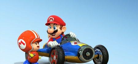 Una pequeña jugadora con problemas de motricidad disfruta de Mario Kart 8  gracias a la conducción asistida