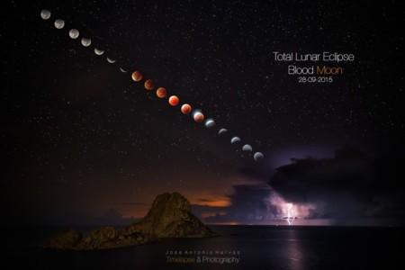 Jose Antonio Hervas, un maestro explica cómo capturó el eclipse total de superluna