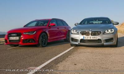 Audi RS 6 Avant contra BMW M6 Gran Coupé, comparativa (parte 4)