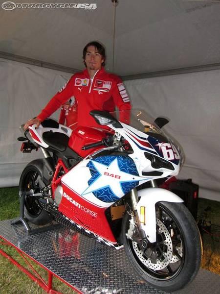 Ducati 848 Nicky Hayden edition