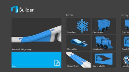 Microsoft presenta su propia aplicación para imprimir en 3D desde Windows 8.1