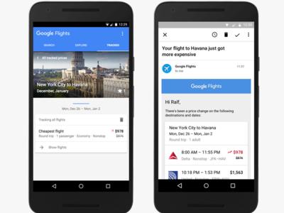 Google Flights quiere ayudarnos a encontrar vuelos y hoteles más baratos
