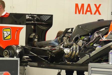 En Marussia hallaron una forma de extraer más potencia al propulsor Ferrari