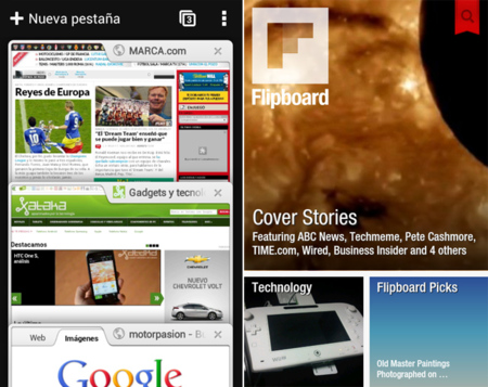Chrome Flipboard