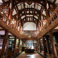 Si eres un amante de los libros te encantará dormir en esta Biblioteca de Gales