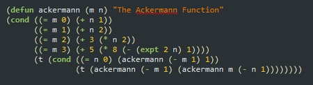 Código Lisp al que le falta un paréntesis