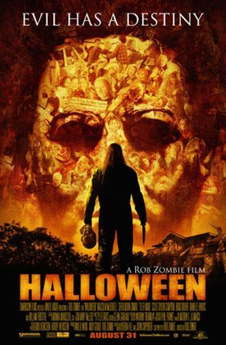 Póster de 'Halloween' de Rob Zombie