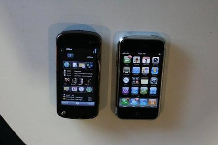 Distribución Nokia vs distribución Apple