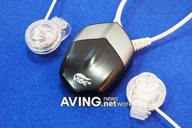 NVE 100B, auriculares que se llevan como pendientes