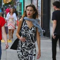 Alexa chung vestido estampado