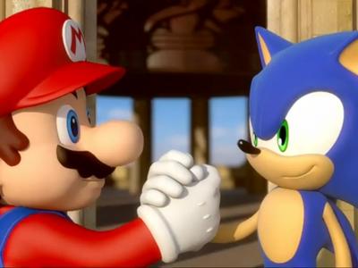 Tratan de completar el primer Sonic y Super Mario Bros. a la vez con un solo mando