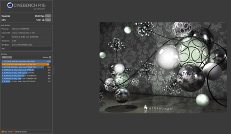 Cinebench Captura