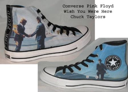 Converse lanza unas zapatillas inspiradas en Pink Floyd, Wish You Were Here