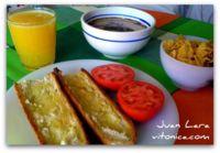 El desayuno perfecto. Receta Saludable