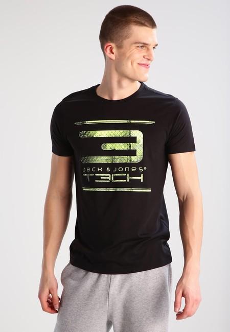 Camiseta Jack & Jones Tech por un precio ganga de 6,75 euros y los gastos de envío gratuitos