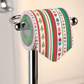 Decoración navideña: hasta en el cuarto de baño
