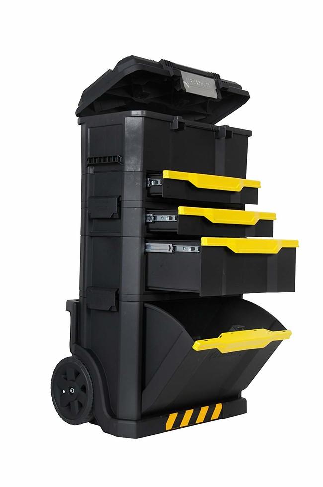 Oferta del día en el taller móvil modular de herramientas Stanley 1-79-206: hasta medianoche cuesta 79,99 euros en Amazon