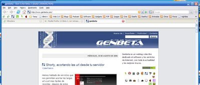 Mozilla Firefox 2.0 Beta 2, con retraso pero muy estable