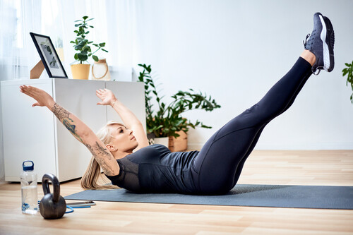 Entrenamiento Tabata en casa con tu propio peso corporal: en forma en tiempo récord