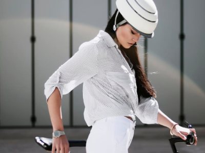 Fuga, el casco favorito de los quieren recorrer la ciudad en bici y con estilo