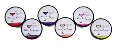 7 sabores diferentes de helado de vino