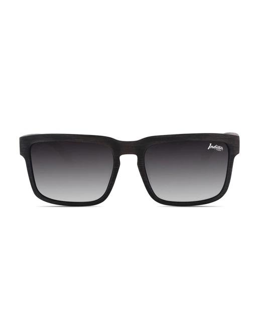 Gafas de sol unisex The Indian Face negras con lentes polarizadas
