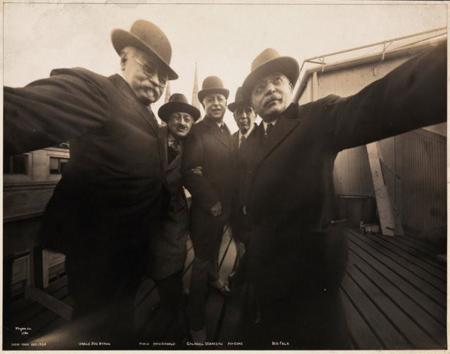 vintage selfi