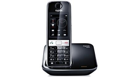 Gigaset S820, un teléfono inalámbrico para el hogar con pantalla táctil y muchas opciones